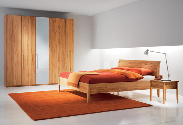 sesam bett mit kopfhaupt holzf llung 180 x 200 sesam. Black Bedroom Furniture Sets. Home Design Ideas