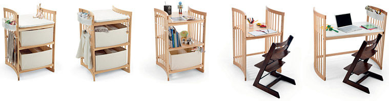 einrichten f rs leben ludwig krenn stokke care wickeltisch wei. Black Bedroom Furniture Sets. Home Design Ideas