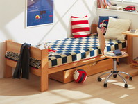 team7 einzelbett 090 x 200 bett betten mobile. Black Bedroom Furniture Sets. Home Design Ideas