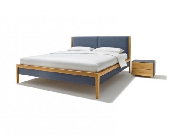 mylon bett mit polsterhaupt leder lederbettseiten 180 x. Black Bedroom Furniture Sets. Home Design Ideas