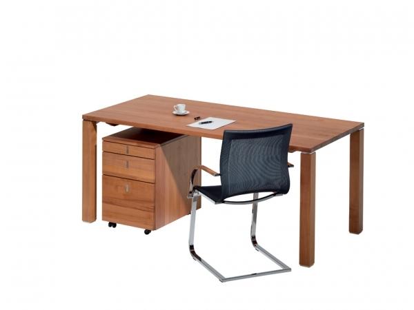 cubus schreibtisch fix 140 x 80 wohnen home office. Black Bedroom Furniture Sets. Home Design Ideas