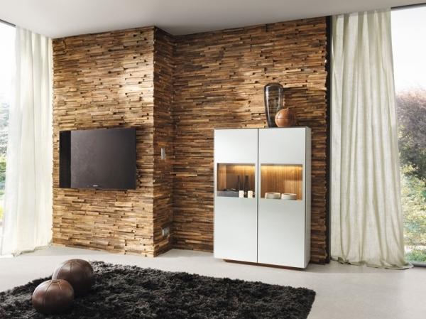 Dekorative Wandverkleidung Holz ~ Wandverkleidung Waldkante  Wandverkleidung Waldkante  TEAM 7