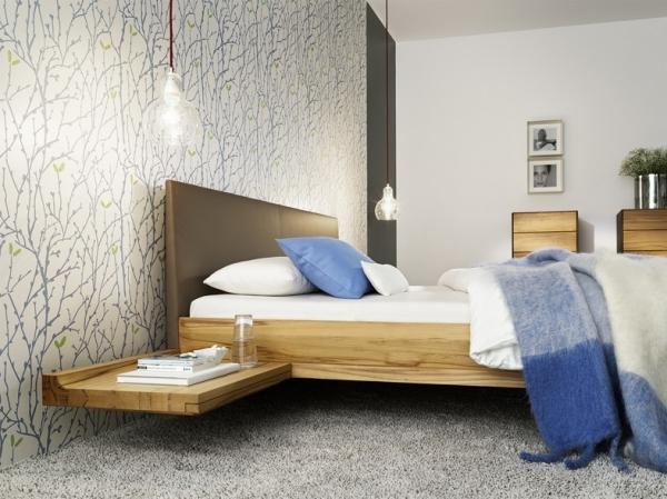 riletto bett holzbettseiten polsterhaupt mit konsole betten riletto serie schlafen team 7. Black Bedroom Furniture Sets. Home Design Ideas
