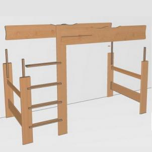 team7 erweiterung zu mittelbett zubeh r betten mobile kinderm bel team 7. Black Bedroom Furniture Sets. Home Design Ideas