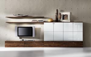 planung wohnzimmer mit team 7 cubus wohnen wohnw nde planung. Black Bedroom Furniture Sets. Home Design Ideas