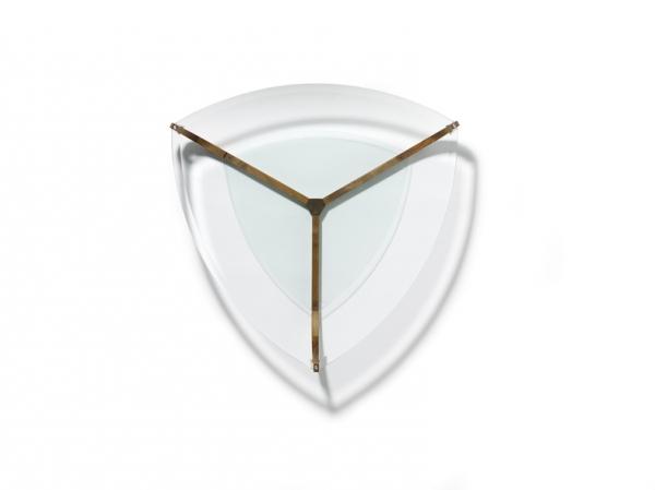 Couchtisch Juwel dreieckig, Kernbuche, Lagerware