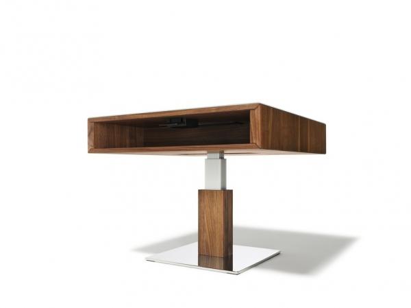 couchtisch lift elektrisch 80 x 80 cm wohnen couchtisch lift couchtisch. Black Bedroom Furniture Sets. Home Design Ideas