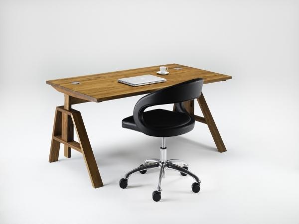 atelier schreibtisch 140 x 80 wohnen home office atelier schreibtisch. Black Bedroom Furniture Sets. Home Design Ideas