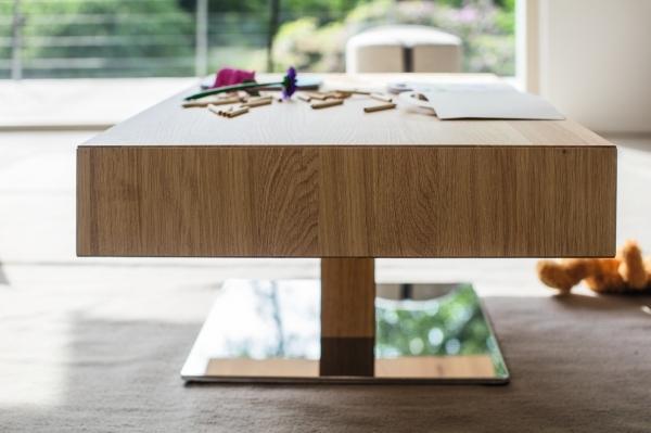 couchtisch lift mit holzlade einseitig 80 x 80 cm wohnen couchtisch lift couchtisch. Black Bedroom Furniture Sets. Home Design Ideas
