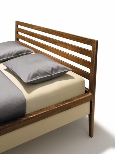 mylon bett mit sprossenhaupt lederbettseiten 180 x 200 cm mylon serie schlafen team 7. Black Bedroom Furniture Sets. Home Design Ideas